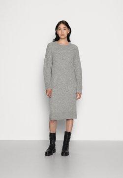 GAI+LISVA - LOTTA - Vestido de punto - grey melange