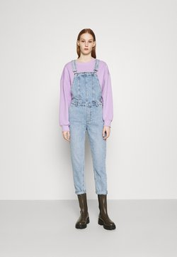ONLY - ONLPERCY LIFE OVERALL  - Dungarees - light-blue denim