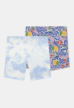 Gina Tricot Mini - MINI BIKER 2 PACK - Shorts - blue