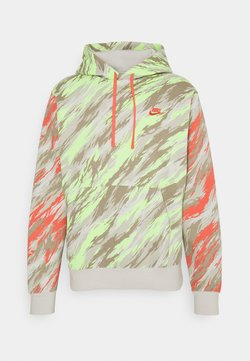 Nike Sportswear - HOODIE - Collegepaita - light bone/magic ember