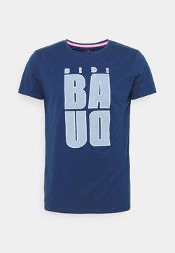 BIDI BADU - BONGANY LIFESTYLE TEE - T-shirt con stampa - dark blue