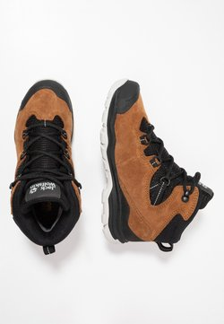 Jack Wolfskin - MTN ATTACK 3 TEXAPORE MID - Outdoorschoenen - desert brown/black