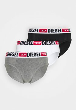 Diesel - ANDRE 3 PACK - Slip - black/grey/white