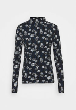 Marks & Spencer London - FUN FLORA - Bluzka z długim rękawem - black