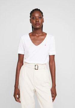 Tommy Hilfiger - CLASSIC  - Basic T-shirt - white