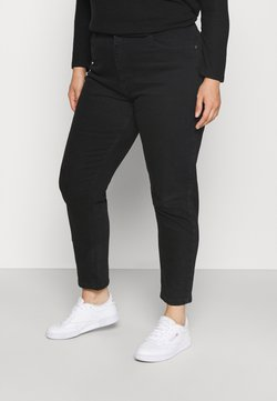 ONLY Carmakoma - CARENEDA MOM - Slim fit -farkut - black