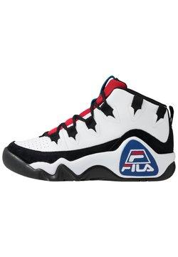 Fila - 95 GRANT HILL - Sneaker high - white/black/red