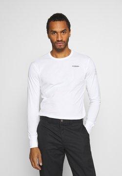 G-Star - BASE R T L\S - Långärmad tröja - white
