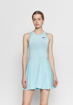 Nike Performance - ADVANTAGE DRESS - Vestido de deporte - light blue/black