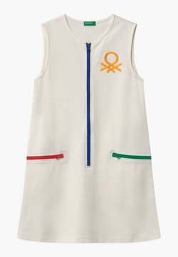 Benetton - EUROPE GIRL - Jerseykleid - white