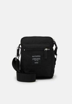 Marimekko - CASH CARRY BAG - Olkalaukku - black