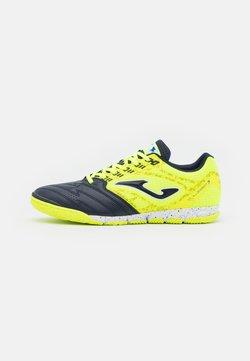 Joma - LIGA 5 - Chaussures de foot en salle - yellow/black