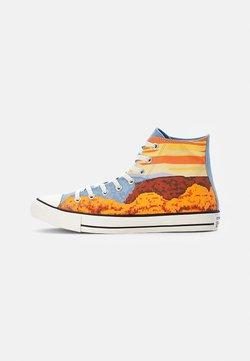Converse - CHUCK TAYLOR ALL STAR NATIONAL PARKS - Korkeavartiset tennarit - magma orange/sea salt blue/egret