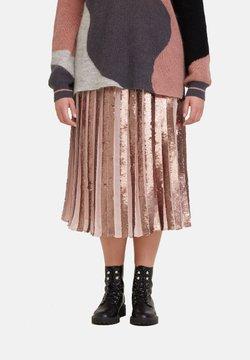 Fiorella Rubino - MIT PAILLETTEN - A-Linien-Rock - rosa