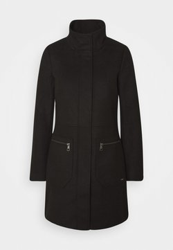 TOM TAILOR DENIM - Short coat - deep black