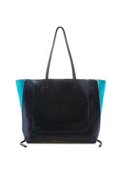 Mywalit - RHODES - Shopping Bag - black/turq
