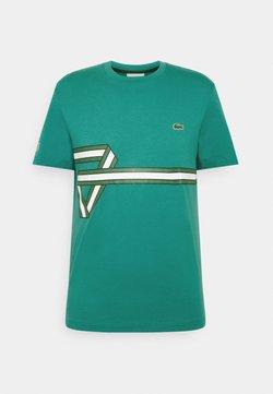 Lacoste - T-shirt imprimé - niagara
