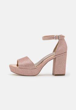 Tamaris - Sandalias con plataforma - rose glam