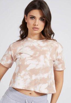 Guess - T-Shirt print - mehrfarbig weiß