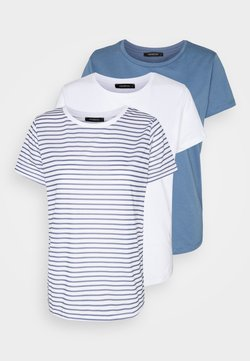 Trendyol - 3 PACK - T-Shirt print - blue
