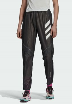 adidas Performance - W AGR RAIN PNT - Jogginghose - black