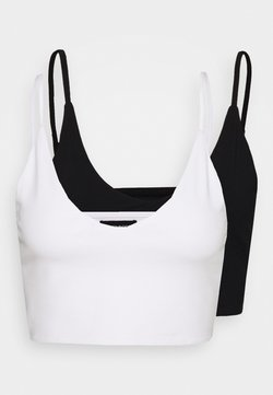 Even&Odd - 2 PACK - Top - white/black