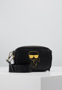 KARL LAGERFELD - CAMERA BAG - Torba na ramię - black