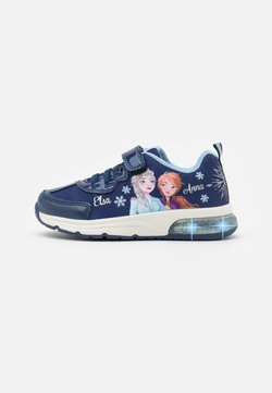 Geox - Disney Frozen Elsa Anna GEOX JUNIOR SPACECLUB GIRL - Sneaker low - navy/sky