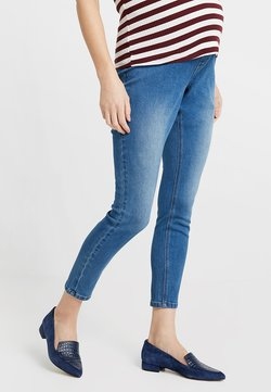 Dorothy Perkins Maternity - UNDER BUMP EDEN - Jeggings - midwash