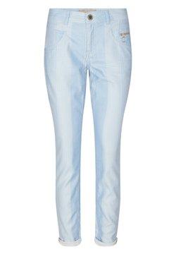 Mos Mosh - NELLY ISLAND PANT - Stoffhose - light blue