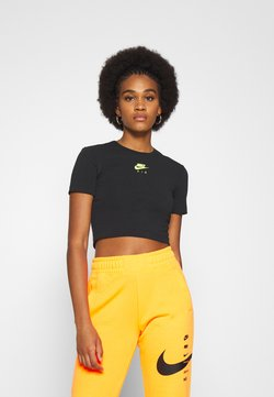 Nike Sportswear - AIR CROP - T-Shirt print - black