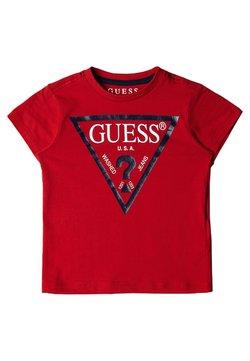 Guess - TODDLER CORE - T-shirt z nadrukiem - rouge
