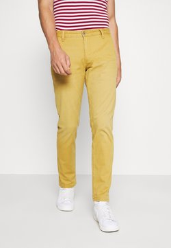 DOCKERS - SMART SUPREME FLEX ALPHA ORIGINAL TAPERED - Chinot - sunset olive yellow