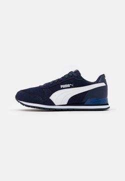 Puma - ST RUNNER UNISEX - Sneaker low - peacoat/white