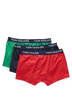 TOM TAILOR - 3 PACK - Shorty - cardinal/navy/green