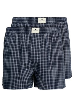 TOM TAILOR - 2 PACK - Boxershorts - blue dark