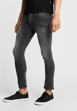 Pier One - Slim fit jeans - moon washed