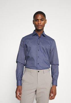 Calvin Klein Tailored - CHECK EASY CARE - Businesshemd - navy