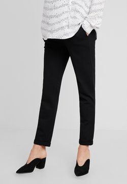 LOVE2WAIT - PANTS PONTE DI ROMA TURN UP - Broek - black