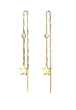 Elli - GLASS CRYSTAL - Örhänge - gold
