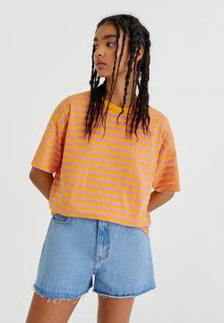 PULL&BEAR - T-Shirt print - orange