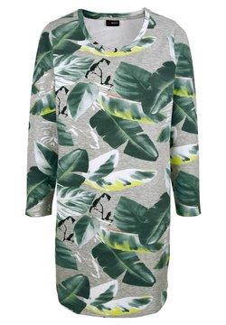 MIAMODA - Sweatshirt - grün weiß