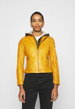 Gipsy - GABBY LAMAS - Leren jas - yellow