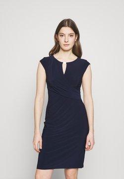 Lauren Ralph Lauren - MID WEIGHT DRESS - Vestido de tubo - lighthouse navy