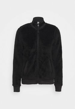 ONLY Play - ONPJAEL FLUFFY ZIP JACKET - Fleecejacke - black