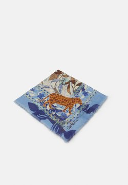Codello - ANIMALS SIGNATURE HERRINGBONE - Chusta - jeans blue