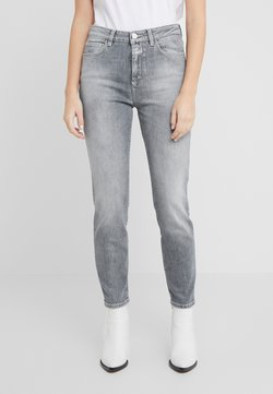 CLOSED - BAKER HIGH  HIGH WAIST CROPPED LENGTH - Jeans slim fit - mid grey