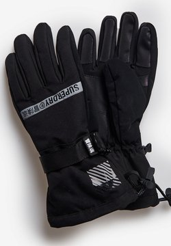 Superdry - SNOW RESCUE - Fingerhandschuh - black