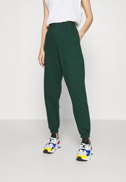 New Look - CUFFED JOGGER - Jogginghose - dark green