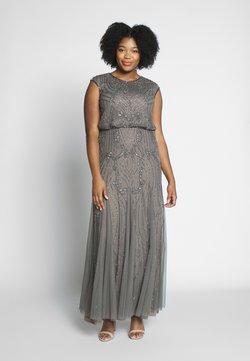 Lace & Beads Curvy - MAJEA - Ballkleid - stone